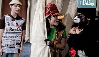 """На театър с децата! Гледайте """"Пинокио"""" в Младежки театър, на 23.12. от 11ч., Голяма сцена, един билет"""