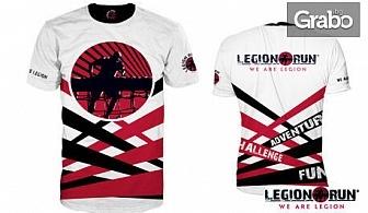 """Тениска """"Legion Run"""", лимитирана серия - размер по избор"""
