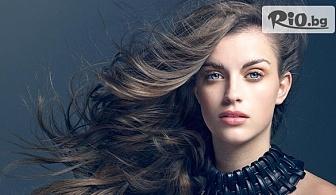 Tерапия за коса против косопад или подхранваща, измиване и оформяне със сешоар, от Салон за красота V.G. Style