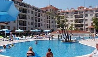 Топ оферта за 2017 в Серенити Бей, 5 дни All Inclusive с чадър и шезлонг на плажа Нестинарка след 15.08