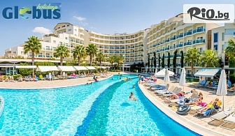 ТОП сезон на море в Кушадасъ! 7 нощувки на база Ultra All Inclusive в Sea Light Resort Hotel 5* + безплатно за деца до 12.99 г, от Глобус Холидейс