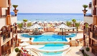 ТОП СЕЗОН на Първа линия в Слънчев бряг. All Inclusive за до 4-ма + басейн в Хотел Голдън Ина