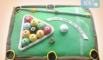 Торта за мъже с индивидуален дизайн и размери по избор от Сладкарница Джорджо Джани!