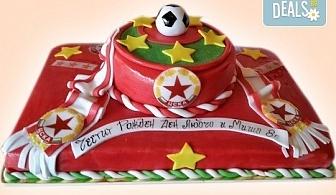 Торти за футболни фенове, геймъри и почитатели на спорта от Сладкарница Джорджо Джани