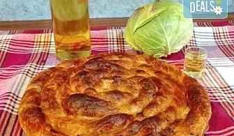 Традиционен зелник! Хапнете 1 или 2 килограма зелник по домашна българска рецепта от Работилница за вкусотии РАВИ!