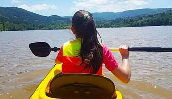 Тренировка по кану каяк само за 10 лв. на езерото Панчарево от спортен клуб Водна земя