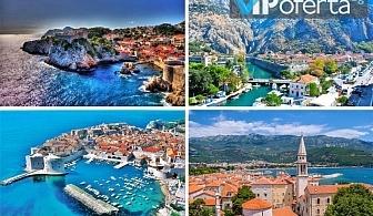 Три нощувки със закуски и вечери в Будва и разходки с екскурзовод в Дубровник, Будва и Котор от Бамби М тур