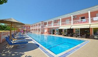 Тризвездна почивка през юни на 250 метра от плажа в Сидари, Корфу – Нощувка в студио с изхранване по избор + басейн от хотел Angelina Hotel ***
