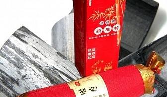 Турмалинова възглавница с бамбукови въглени