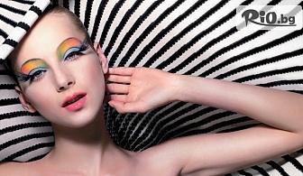 """Удължаване и сгъстяване на мигли чрез метода 3D """"косъм по косъм"""", от Студио за красота R"""