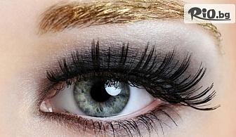 Удължаване и сгъстяване на мигли чрез поставяне косъм по косъм или 3D, от Салон за красота Амазонка 3