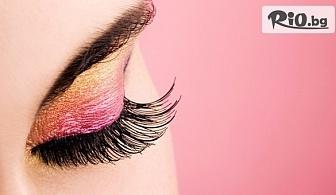 """Удължаване и сгъстяване на мигли """"косъм по косъм"""", от Fashion Studio Кий Марая"""