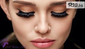 Удължаване и сгъстяване на мигли - 3D или косъм по косъм с 50% отстъпка, от Sesil Styling Studio