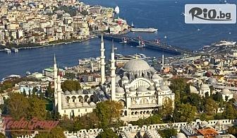 Уикенд в Истанбул! 2 нощувки със закуски в хотел 3, 4 или 5* по избор, със собствен транспорт, от Теско груп