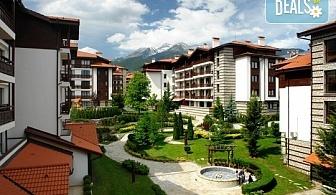 Уикенд почивка в Банско, през април, за 1 май  или за Гергьовден, в хотел Уинслоу Инфинити 3* ! Нощувка със закуска и вечеря, ползване на вътрешен басейн, джакузи, сауна, парна баня и релакс зона, безплатно настаняване за дете до 5.99г.!