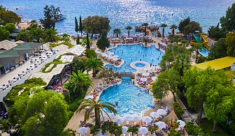 Ultra All Inclusive в Бодрум, Турция през Септември, Октомври. 7 нощувки на брега на морето + басейн и собствен плаж от хотел Labranda TMT Bodrum Resort 5*