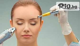 Ултразвуково почистване на лице и маска за околоочен контур или Ревитализираща терапия на Algologie с водорасли, от Салон Морис