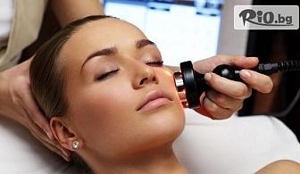 Унисекс хидратираща терапия за лице с продукти на Profi Derm или Радиочестотна лифтинг терапия за лице с продукти на Blue Marine, от Салон за красота Баронеса