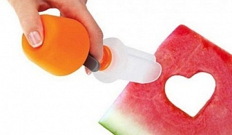 Уред за фигурно рязане на плодове