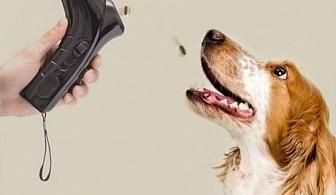 Уред за изстрелване на кучешки гранули