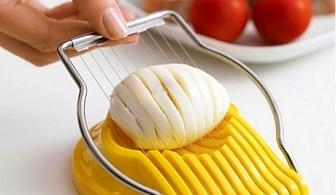 Уред за рязане на сварени яйца