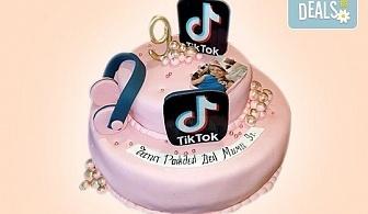 С Вашия бранд! Фирмена торта с лого и индивидуален дизайн от Сладкарница Джорджо Джани