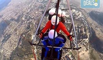 Въздушна разходка! Тандемен полет с моторен делтапланер над Родопите плюс HD заснемане и снимки от Avatar Extreme Sport