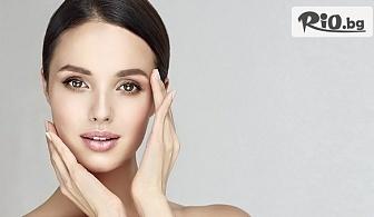 Възстановяване еластичността на кожата на лицето чрез мезотерапия с натурален чист жив колаген и масаж на лице и деколте, от Боди студио Галиша
