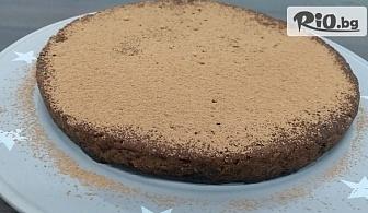 Веган брауни (8 парчета, 700 г) без глутен, без добавена захар, от Зелена работилница