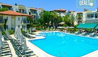 Великден в Анталия на супер цена! 5 нощувки на база All Inclusive в Gardenia Beach 4*, двупосочен билет за директен чартърен полет, летищни такси и трансфери