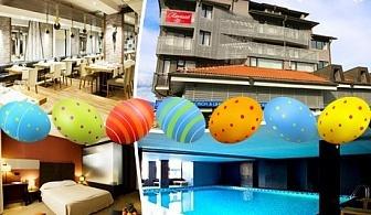 Великден в Банско! 3 или 4 нощувки със закуски + закрит басейн и релакс пакет в хотел Ривърсайд****