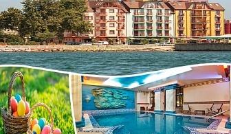 Великден на брега на морето!  2 или 3 нощувки на човек със закуски, празничен обяд, и СПА в хотел Сейнт Джордж****, Поморие