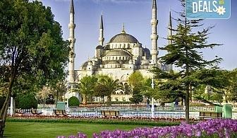 За Великден и Фестивала на лалето в Истанбул! 3 нощувки със закуски, транспорт, посещение на Одрин