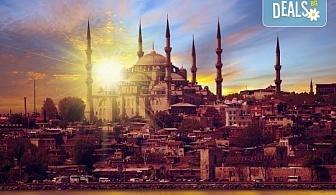 Великден в Истанбул с Глобус Турс! 3 нощувки със закуски в Буюук Шахинлер 4*, транспорт и посещение на Одрин