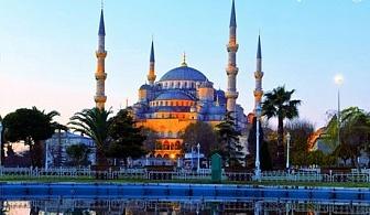Великден в Истанбул! Транспорт, 3 нощувки със закуски + посещение на Одрин и желязна църква Св.Стефан от Дениз Травел