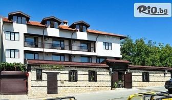 Великден в Кошарица само на 3 км от Слънчев бряг! 2, 3 или 4 нощувки със закуски и вечери, Великденски обяд + термална зона, от Семеен хотел Ловна среща