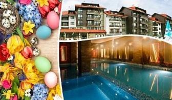 Великден край Банско! 3 нощувки на човек със закуски или закуски и вечери + басейн и СПА зона от Балканско Бижу апартхотел и СПА****
