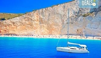 Великден на о. Лефкада - изумрудения остров на Гърция! 3 нощувки със закуски в Авра Бийч 3*, Нидри, транспорт и екскурзовод от Дрийм Тур!