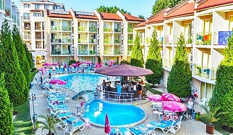 За Великден и майски празници! 2+ нощувки на база All inclusive на човек + басейн в хотел Сън сити, Слънчев Бряг. Дете до 13г. - безплатно