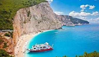 Великден на остров Лефкада! Включен транспорт + 3 нощувки със закуски и вечери от Еко Тур Къмпани