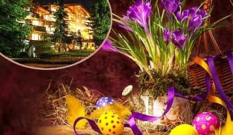Великден в Пампорово! 3 нощувки със закуски и  вечери, едната празнична + басейн и релакс пакет за ДВАМА или ТРИМА в хотел Елина***