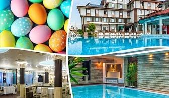Великден в Спа хотел Езерец, Благоевград! 2 или 3 нощувки на човек със закуски и вечеря с DJ на 27.04. +  2 минерални басейна и СПА