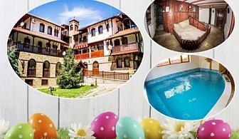 Великден в Старозагорски минерални бани! 3 нощувки със закуски и празнична вечеря + бирена релакс зона, топъл басейн и сауна в хотел Левкион