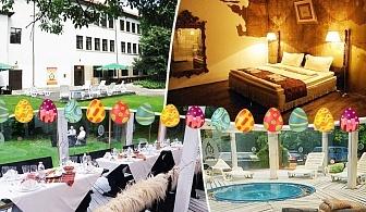 Великден в свищов. 2 или 3 нощувки на човек със закуски и вечери + празничен обяд + горещо джакузи в комплекс Манастира, Свищов