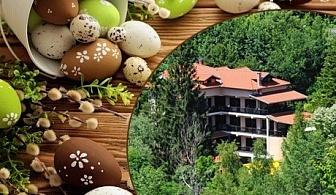 Великден в Троянския Балкан! 3 нощувки със закуски и вечери, едната празнична + басейн с МИНЕРАЛНА вода  за 120лв. в хотел Илинден, Шипково