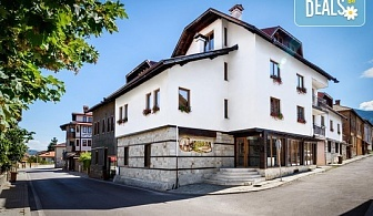 Великденски пакети в новооткрития хотел Campanella 3*, Банско!  2 или 3 нощувки със закуски и вечери, празничен Великденски обяд в двойна стая, безплатно за деца до 4 г.!