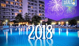 Весела Нова година в Hotel Tusan 5*, Кушадасъ, Турция! 4 нощувки на база All Inclusive, Новогодишна вечеря с празнично меню и неограничени напитки! Безплатно за дете до 6 години!