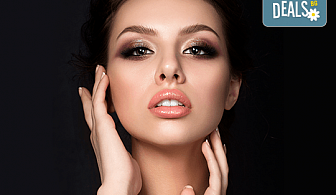 Влагане на 1 мл. дермален филър HIALURONICA за устни или бръчки чрез най-съвременния и безболезнен метод - инжектор пен, в NSB Beauty Center!