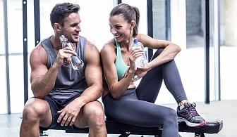 Влезте във форма за новата година! 60-минутна фитнес тренирвока с инструктор във Фитнес Олимп!