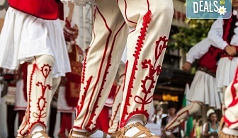 """Всички на хорото! 8 урока по народни танци за начинаещи от Фолклорен клуб Баядери в НЧ """"Бъднина"""" или Студио Фюжън!"""